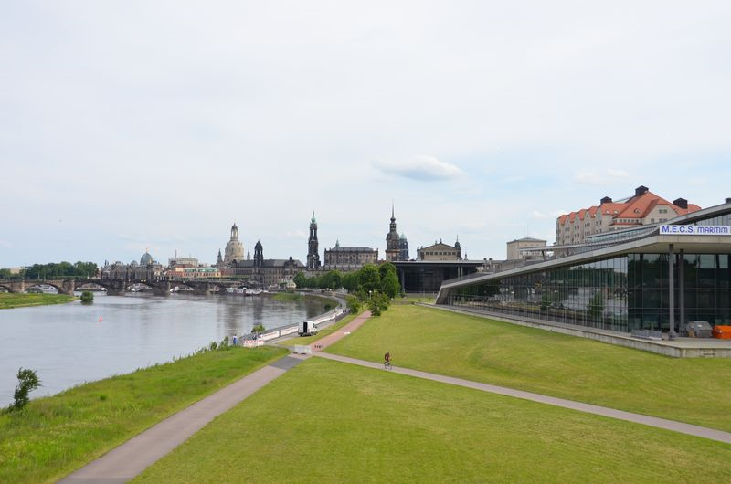 Views from the Bridge, Elbe River, Dresden, Germany